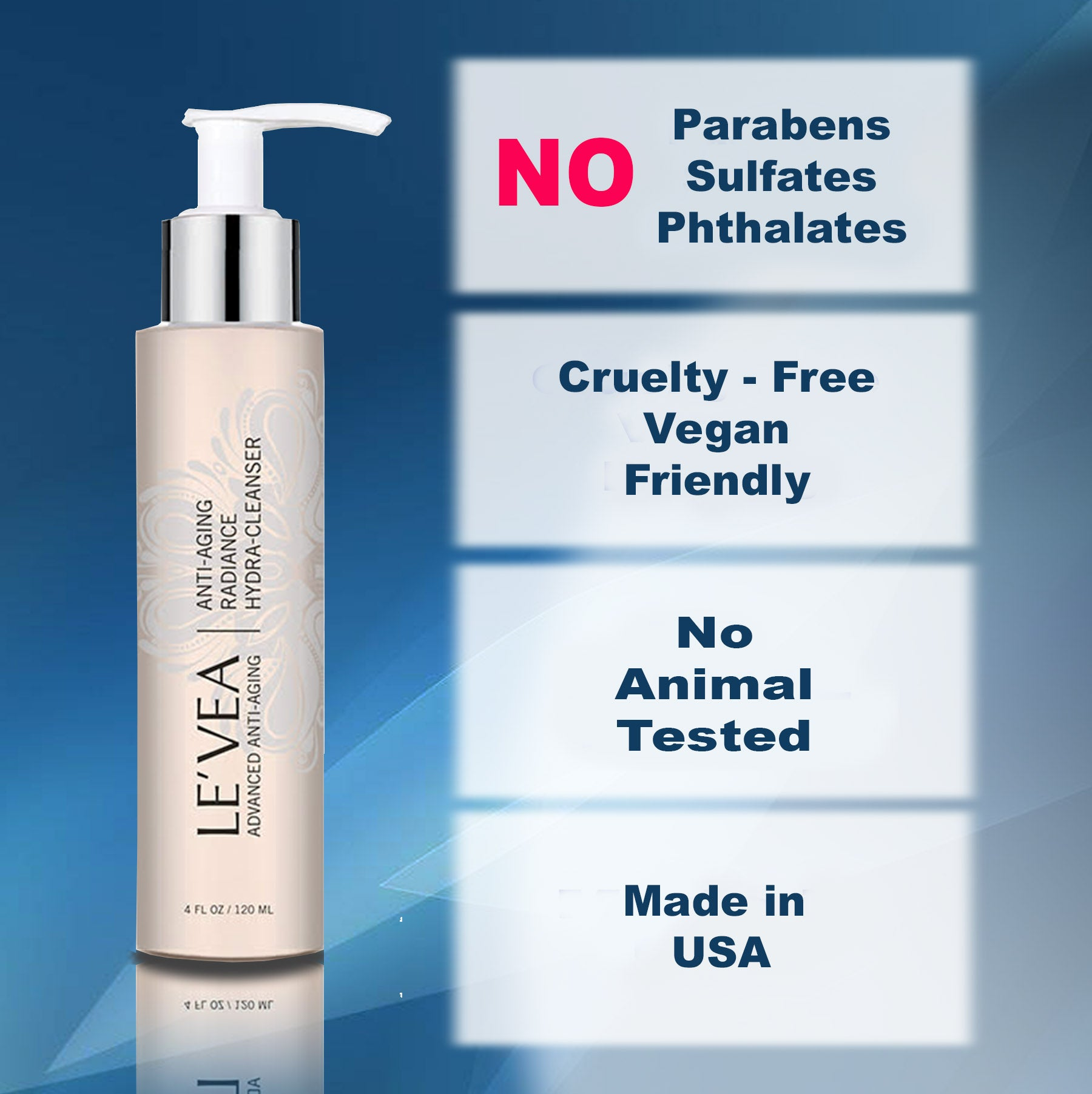 No Parabens face wash