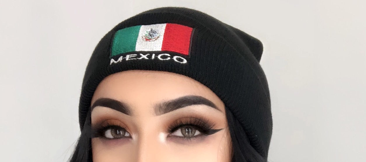Mexico Beanie – SLEEK BOUTIQUE 54d5d2ce3