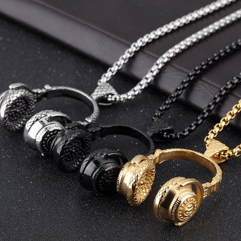 Headphone Necklace Three colors