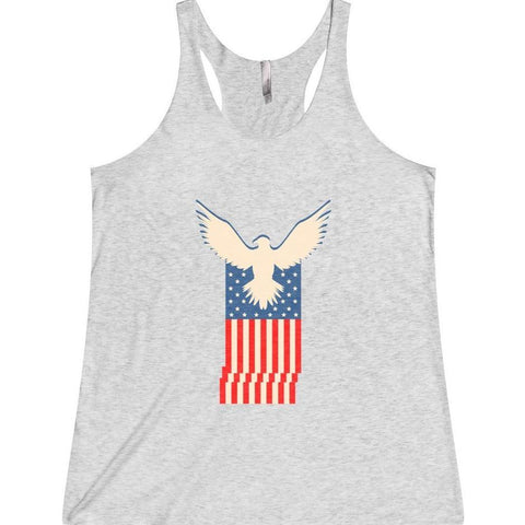 American Eagle Flag Women's Tank Top