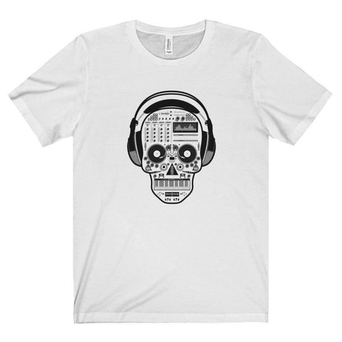 Synthesizer Skull Tee