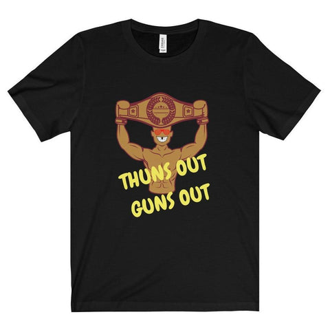 Thuns Out Guns Out Tee