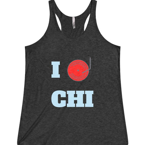 Chicago Dj Love Women's Tank Top