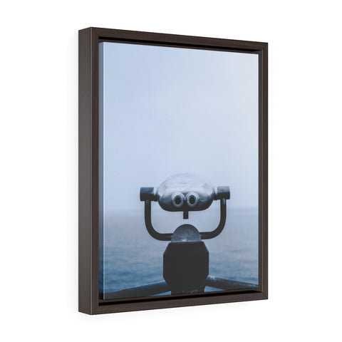Ocean View Premium Framed Wall Canvas