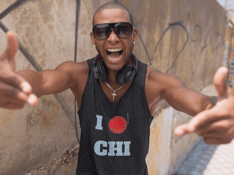 Chicago Dj Love Tank Top