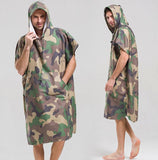 Camouflage Microfiber Wearable Towel