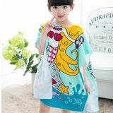 Children's Wearable Hooded Towel