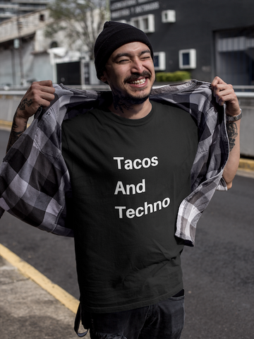 Tacos And Techno Tee