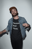 Techno And Pizza Tee