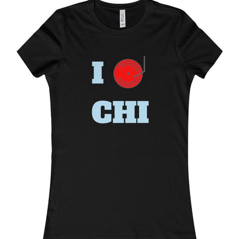 Chicago Dj Love Women's Favorite Tee