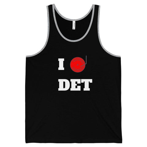 Detroit Dj Love Tank Top