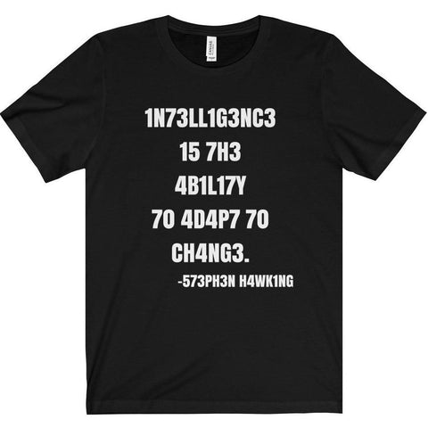 Intelligence Adaptability Shirt