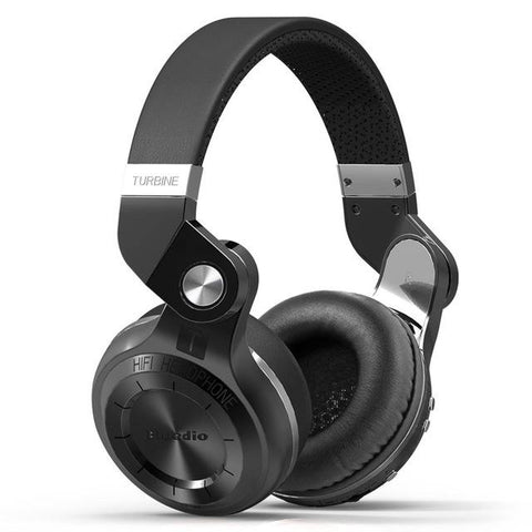 Bluedio Turbine T2s Wireless Bluetooth Headphones Black