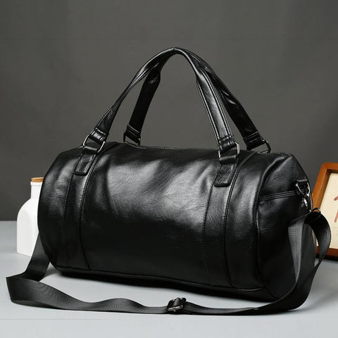 Black Drum Duffel Bag
