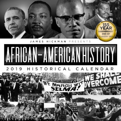 2019 African American History Calendar