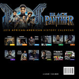 Black Panther 2019 Black History Calendar and 18x24 Poster