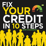 2018 Fix Your Credit Score Calendar