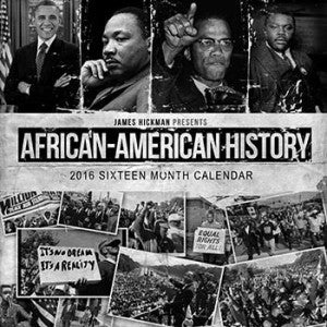 2016 African American History Calendar