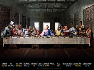 24×36 Last Supper Poster