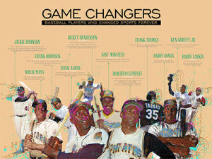 18x24 Baseball Legends