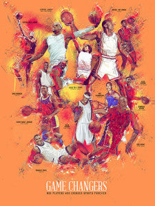 18x24 Basketball Legends (Men)