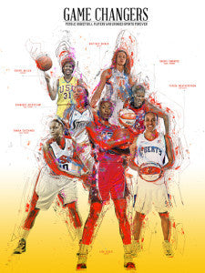 18x24 Basketball Legends (Women)