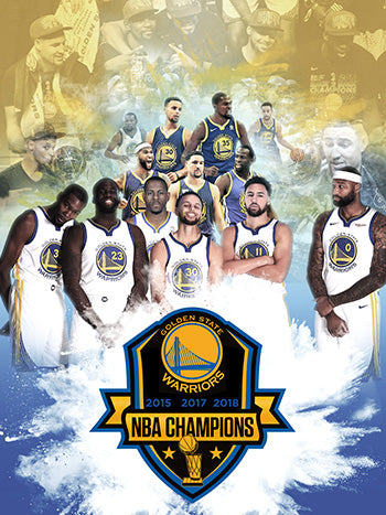 18x24 Golden State Warriors Poster