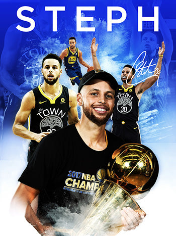 18x24 Steph Curry Poster