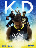 18x24 Golden State Warriors/Kevin Durant/Steph Curry Posters