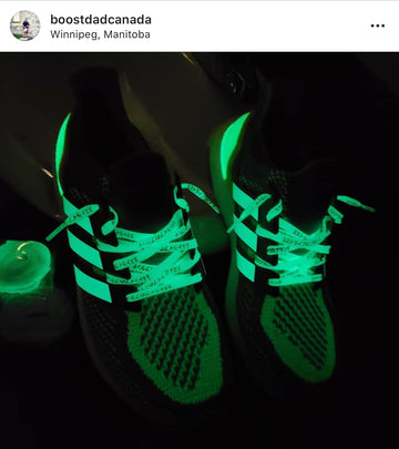 Glow in the Dark UB Stripes (Laces not included)