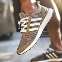 White UB Stripes