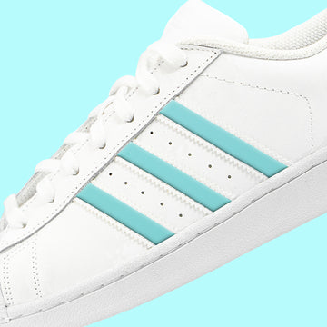 Mint Superstar Stripes