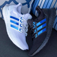 Blue Chrome UB Stripes