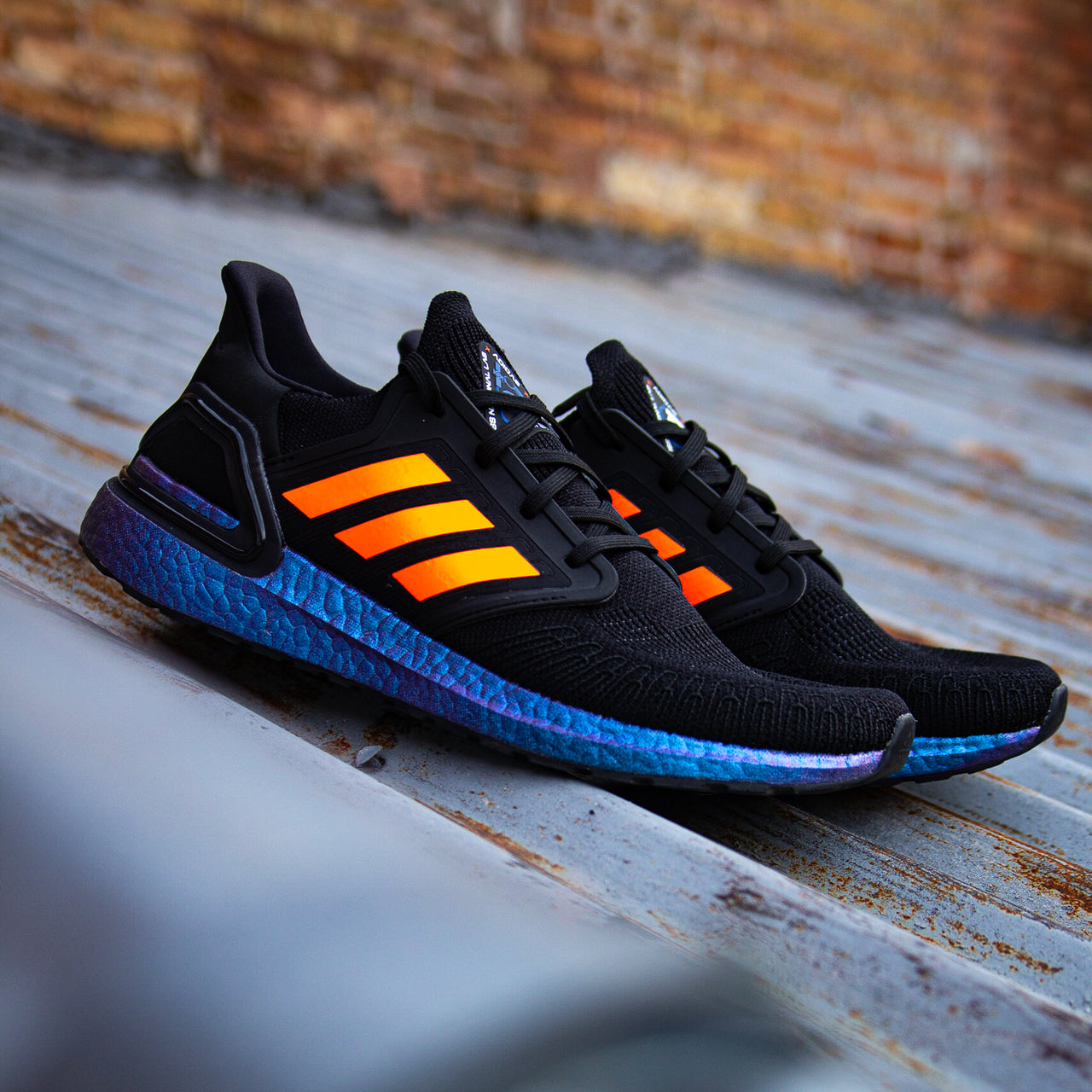 Solar Orange UB Stripes
