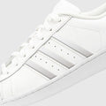 White Superstar Stripes