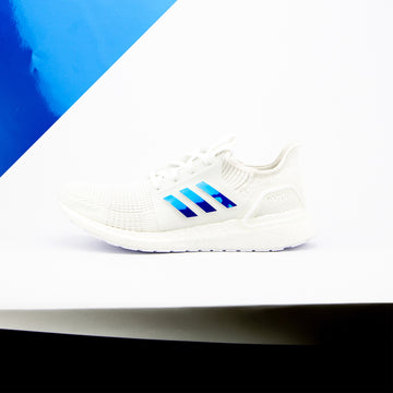Blue Chrome Ultra Boost 19 Stripes