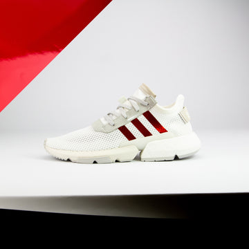 Red Chrome NMD/POD Stripes