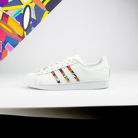 Shape Camo Superstar Stripes