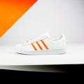 Solar Orange Superstar Stripes