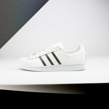 Steel Gray Color Shift Superstar Stripes