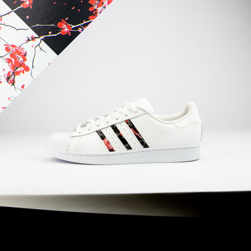 Yin & Yang Cherry Blossom Superstar Stripes