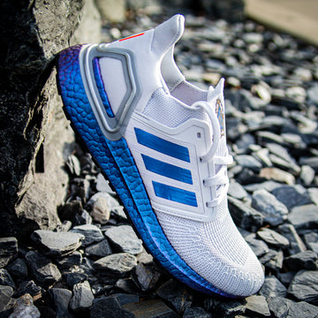 Ice Blue Color Shift Ultra Boost 20 Stripes