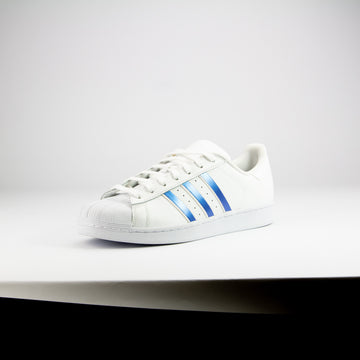 Ice Blue Color Shift Superstar Stripes
