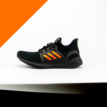 3M Orange Reflective Ultra Boost 19 Stripes