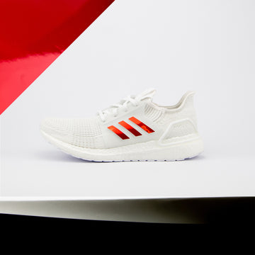 Red Chrome Ultra Boost 19 Stripes