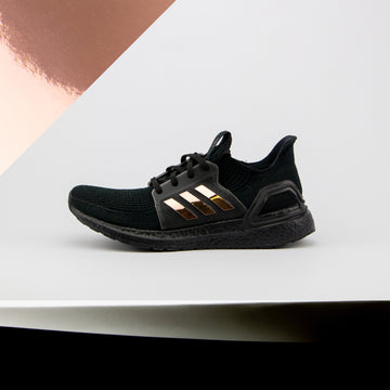 Rose Gold Chrome Ultra Boost 19 Stripes