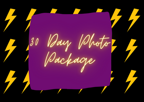 30 Day Photo Content Package