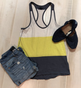 American Eagle Color Block Tank