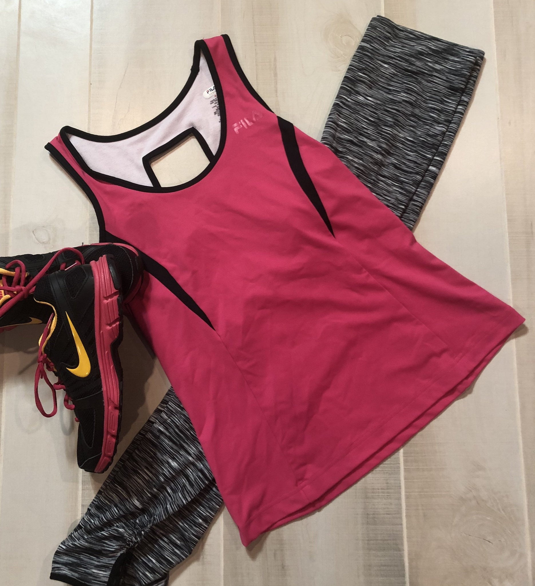 FILA Workout Tank with Built-in Bra