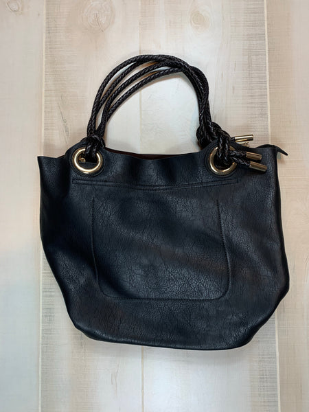 No Brand Braided Handle Satchel